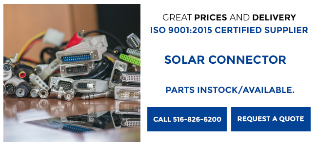 Solar Connectors Info